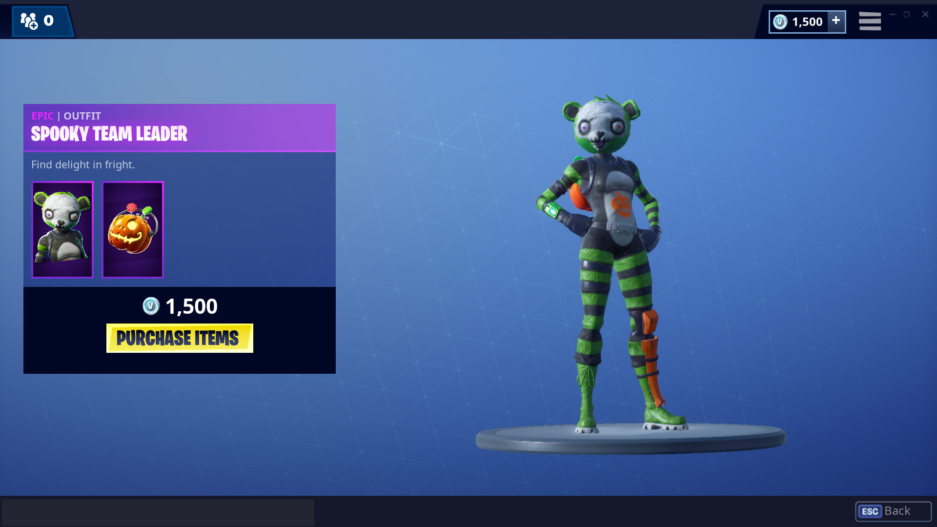 Squad Leader Fortnite Rarity Squad Leader Skin Posted By Ethan Sellers