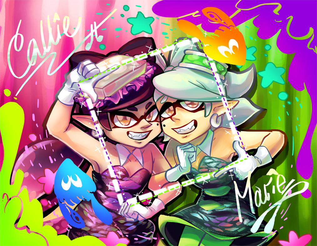 Squid Sisters Wallpapers Posted By Ethan Simpson