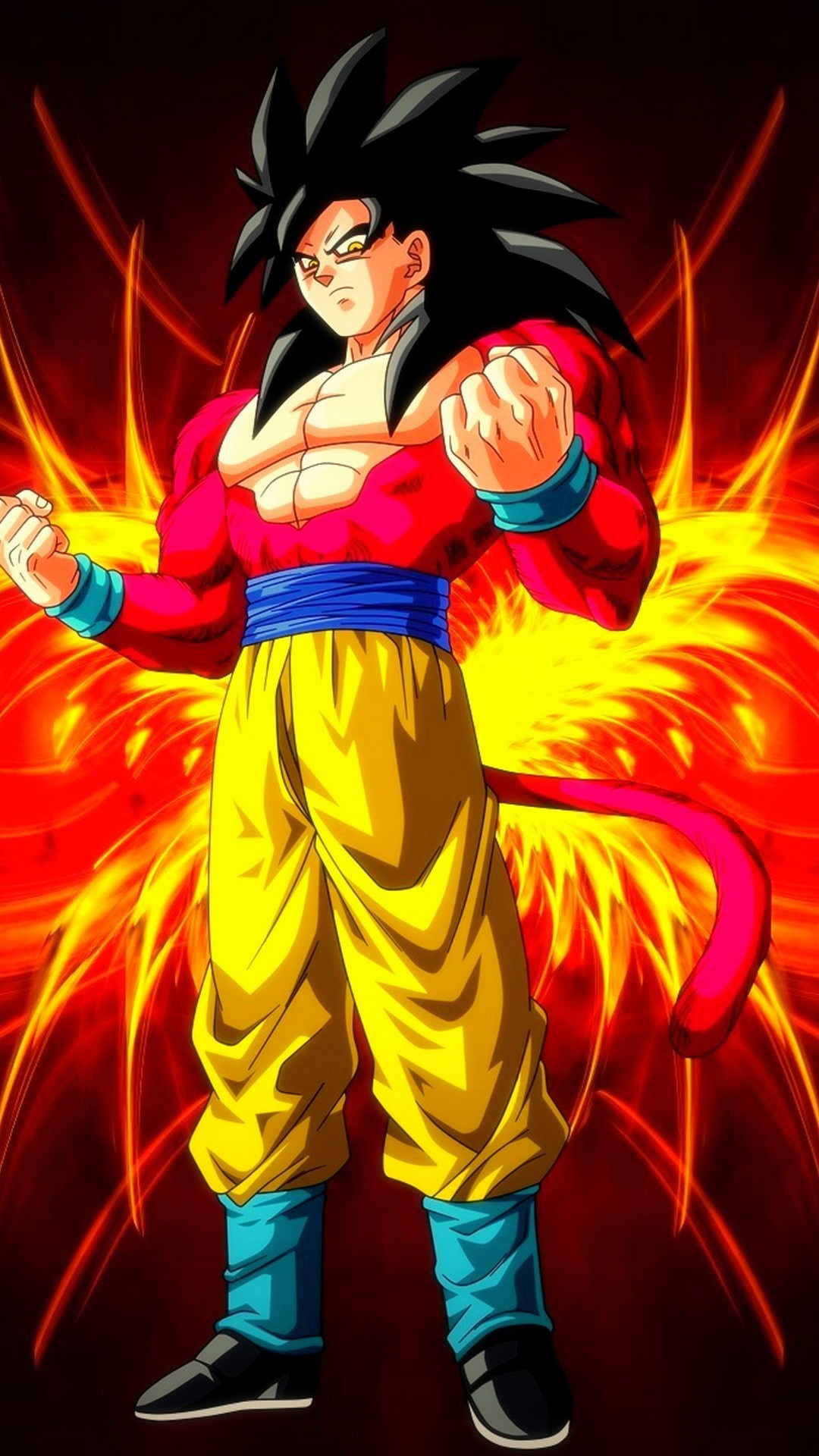 Ssj4 Goku Wallpapers Posted By Michelle Johnson