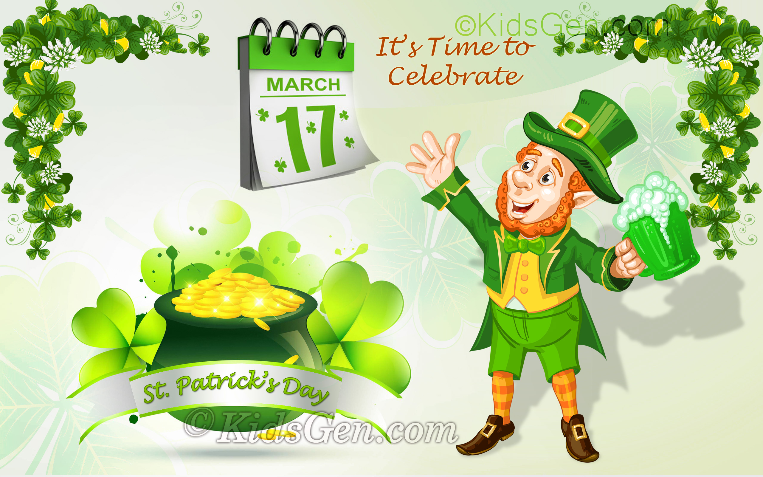 St Patrick Day Screensavers Posted By Zoey Mercado