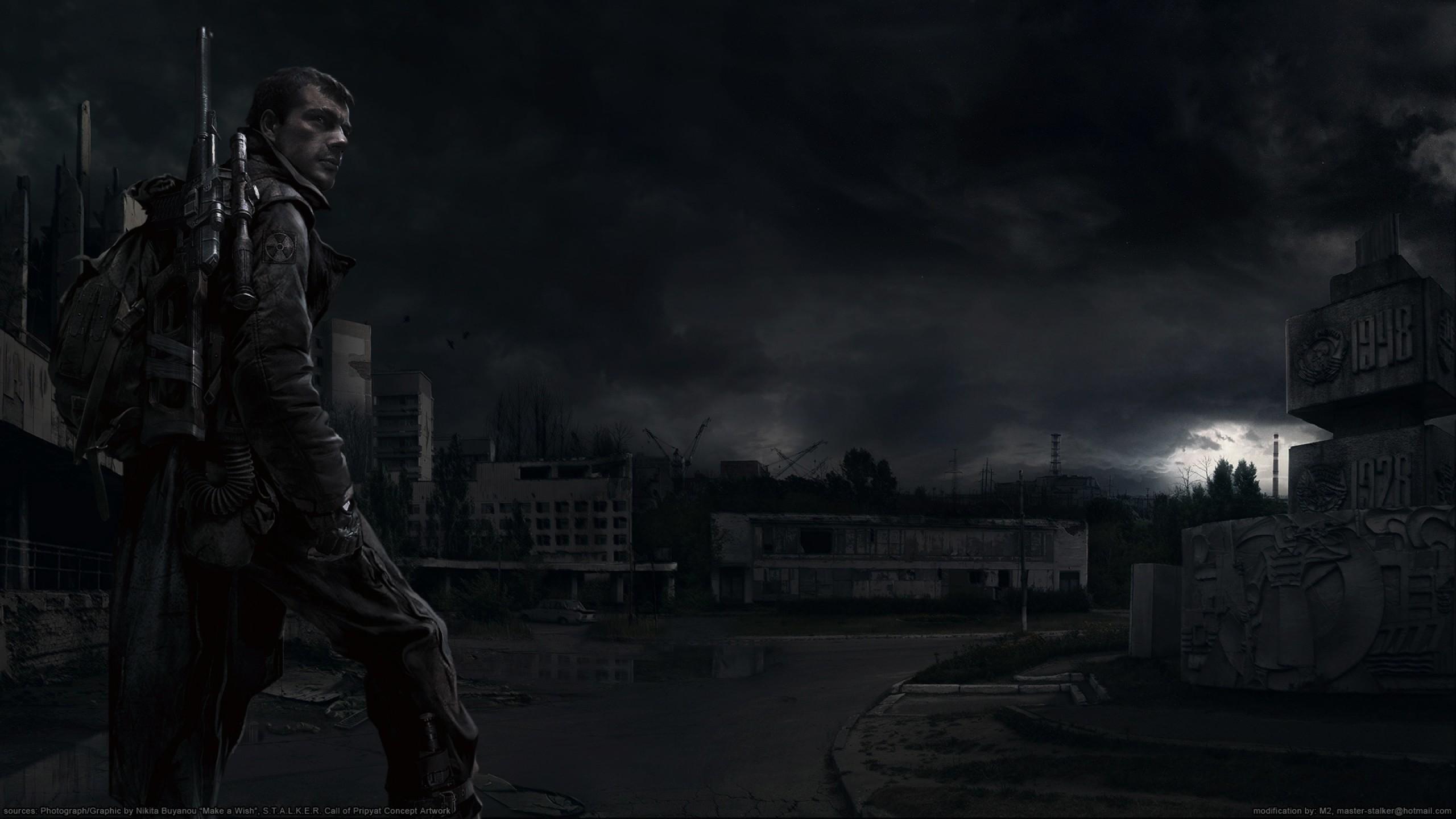 Stalker Shadow Of Chernobyl Wallpaper Hd
