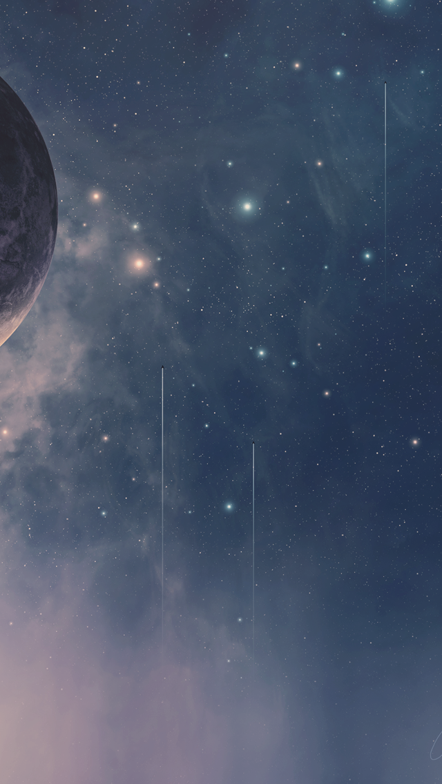 Star And Moon Backgrounds Posted By Christopher Mercado