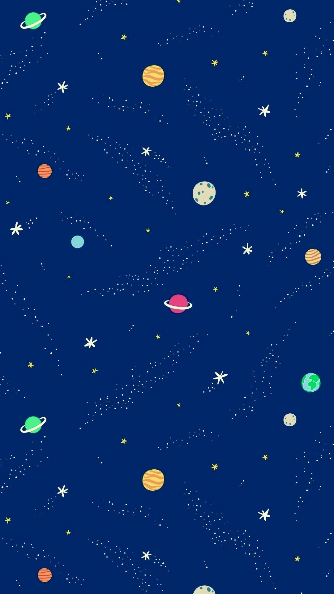 Star And Moon Wallpaper Posted By Ryan Anderson