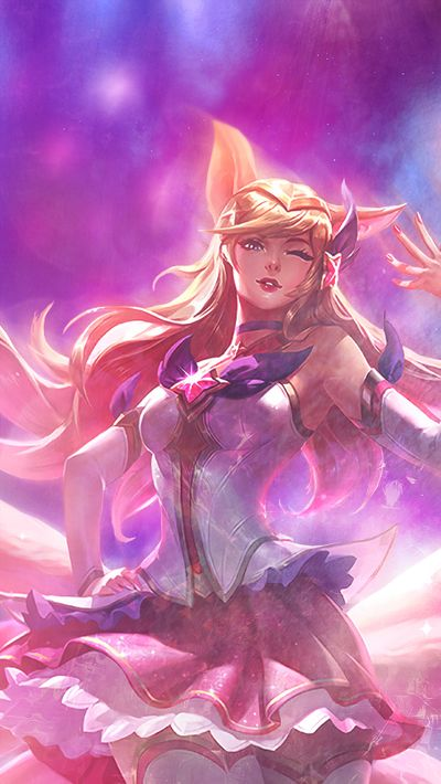 Star Guardian Ahri Wallpaper Posted By Sarah Anderson