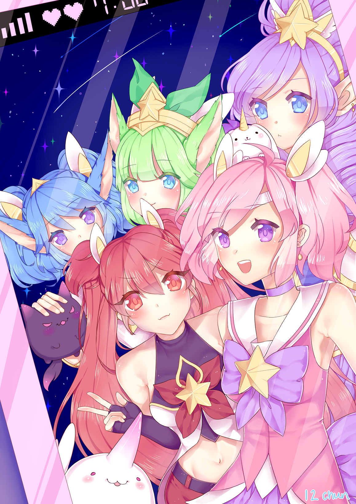 Star Guardians Wallpaper Posted By John Simpson