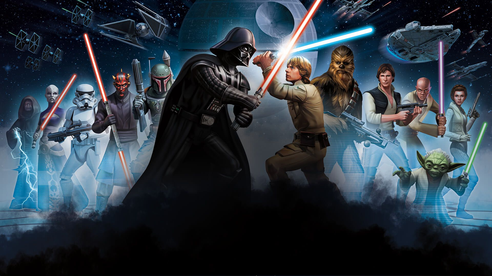 Star Wars Background Hd Posted By Ryan Thompson