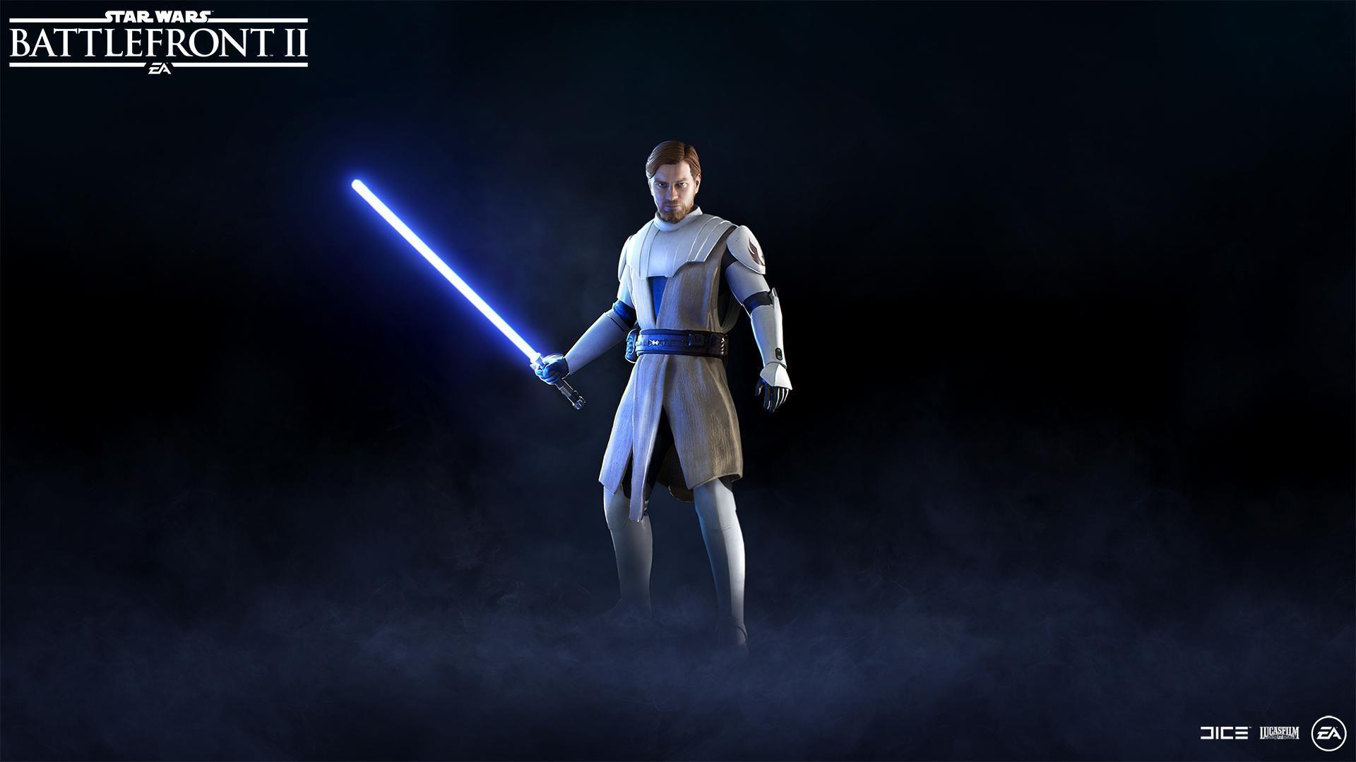 Star Wars Battlefront 2 Update 1.23 Fixes Obi Wan and Bugs