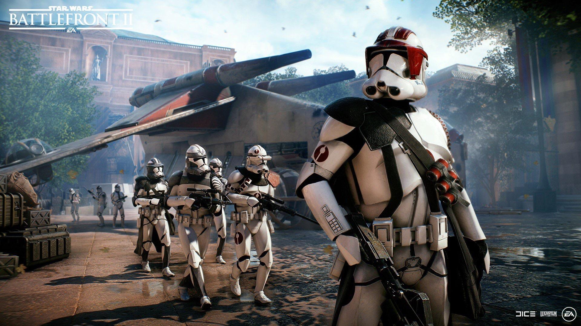 Star Wars Battlefront 2 Hd Wallpaper Posted By Samantha Tremblay