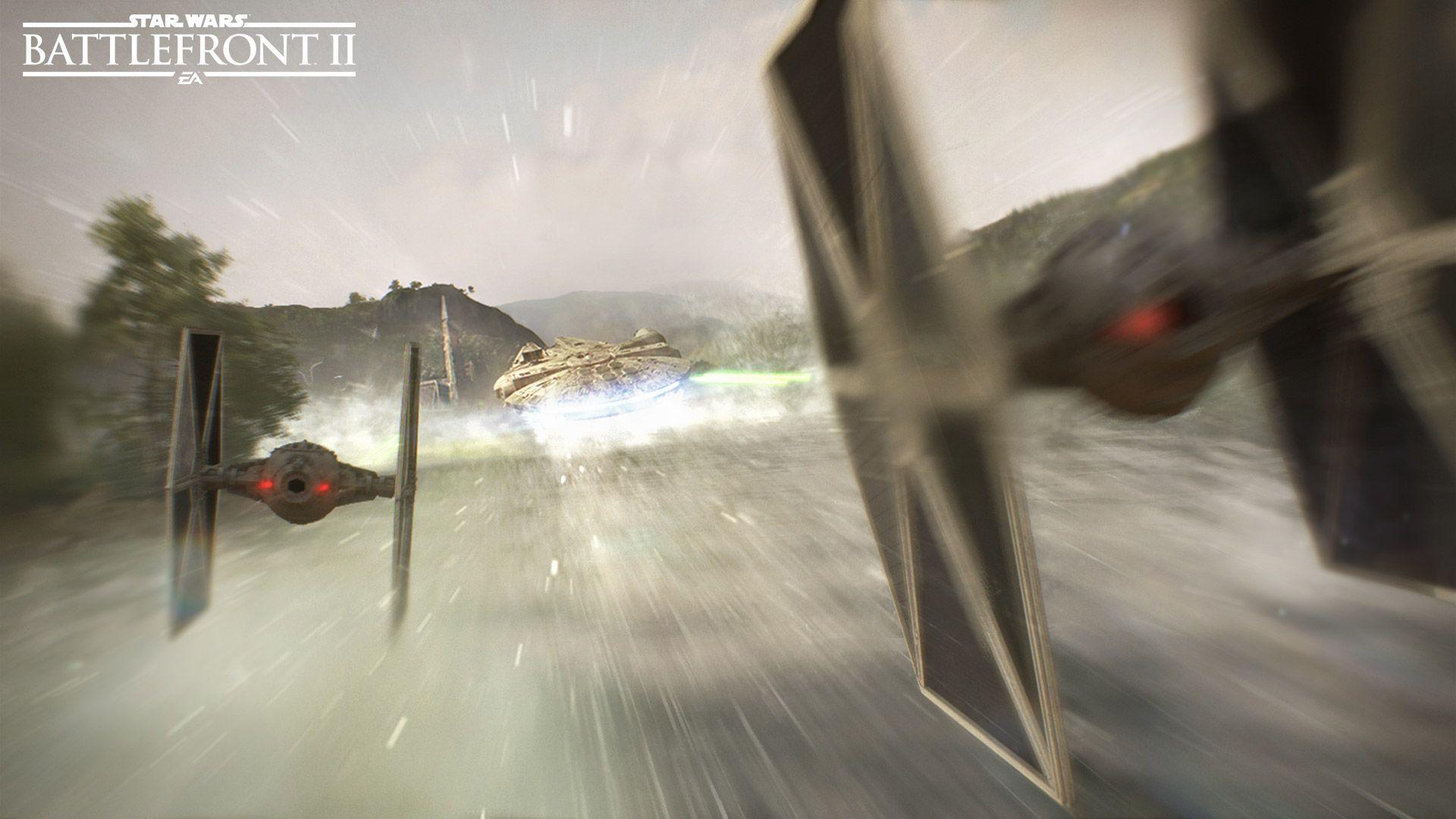 Star Wars Battlefront 2 Hd Wallpaper Posted By Samantha Tremblay