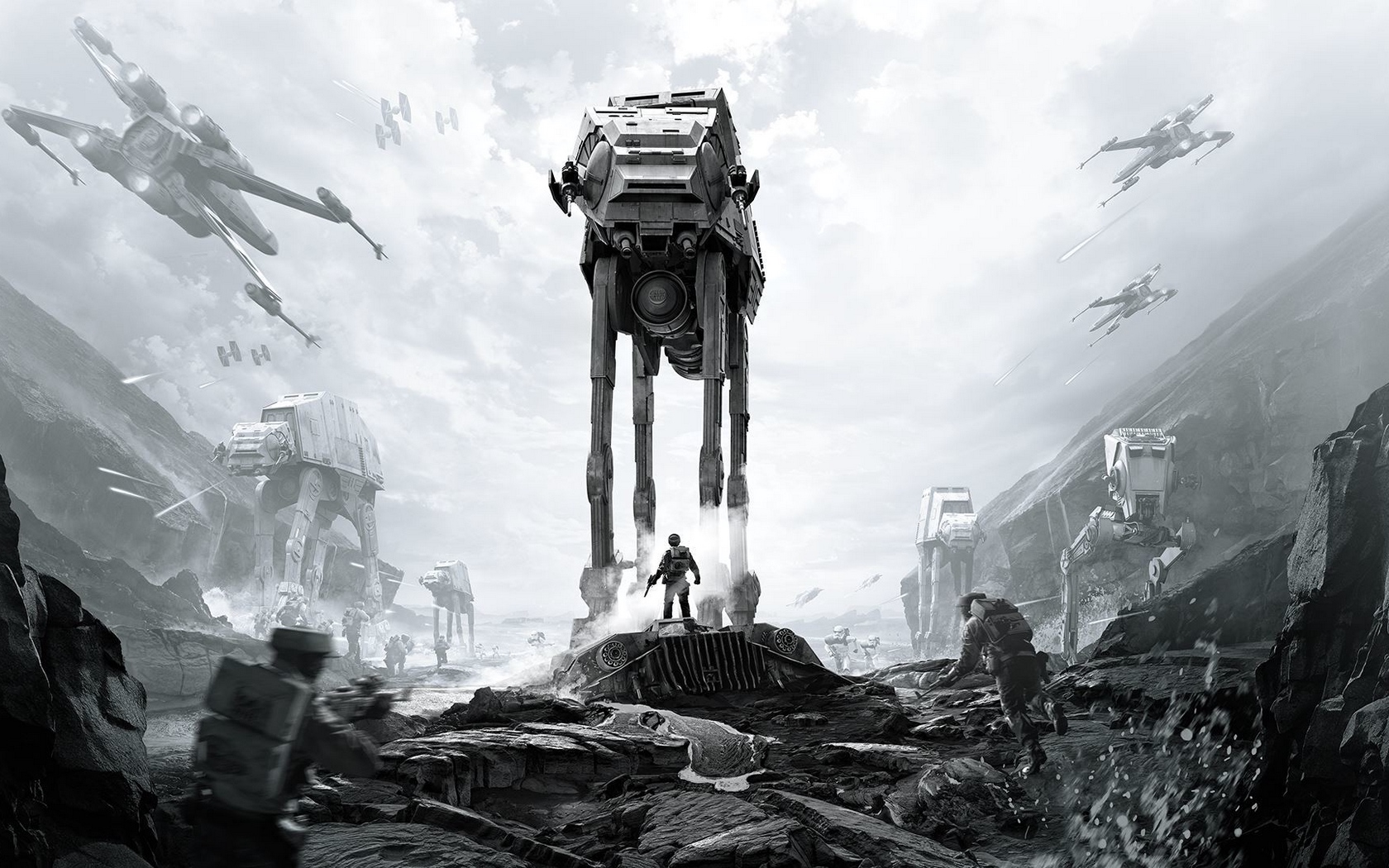 Star Wars Battlefront 2 Widescreen Posted By Christopher Johnson