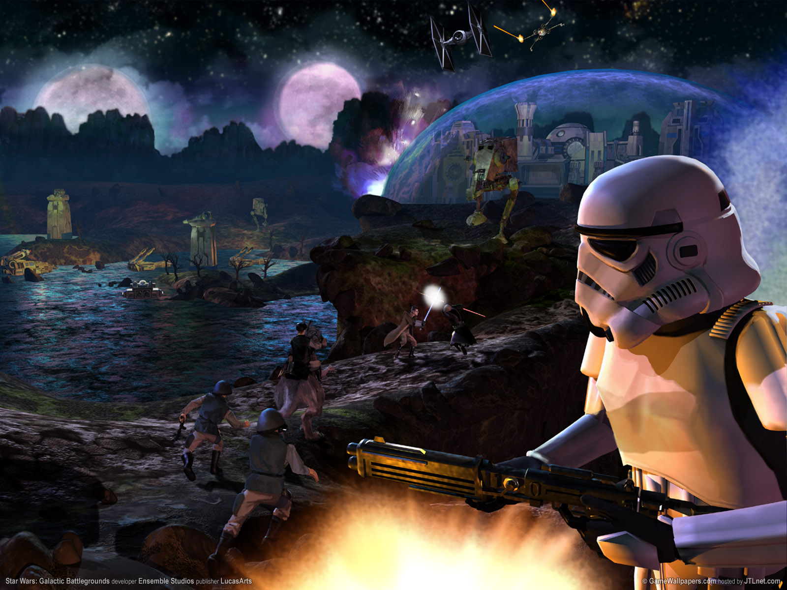 Star Wars Battlefront 2 Widescreen Posted By Christopher Simpson