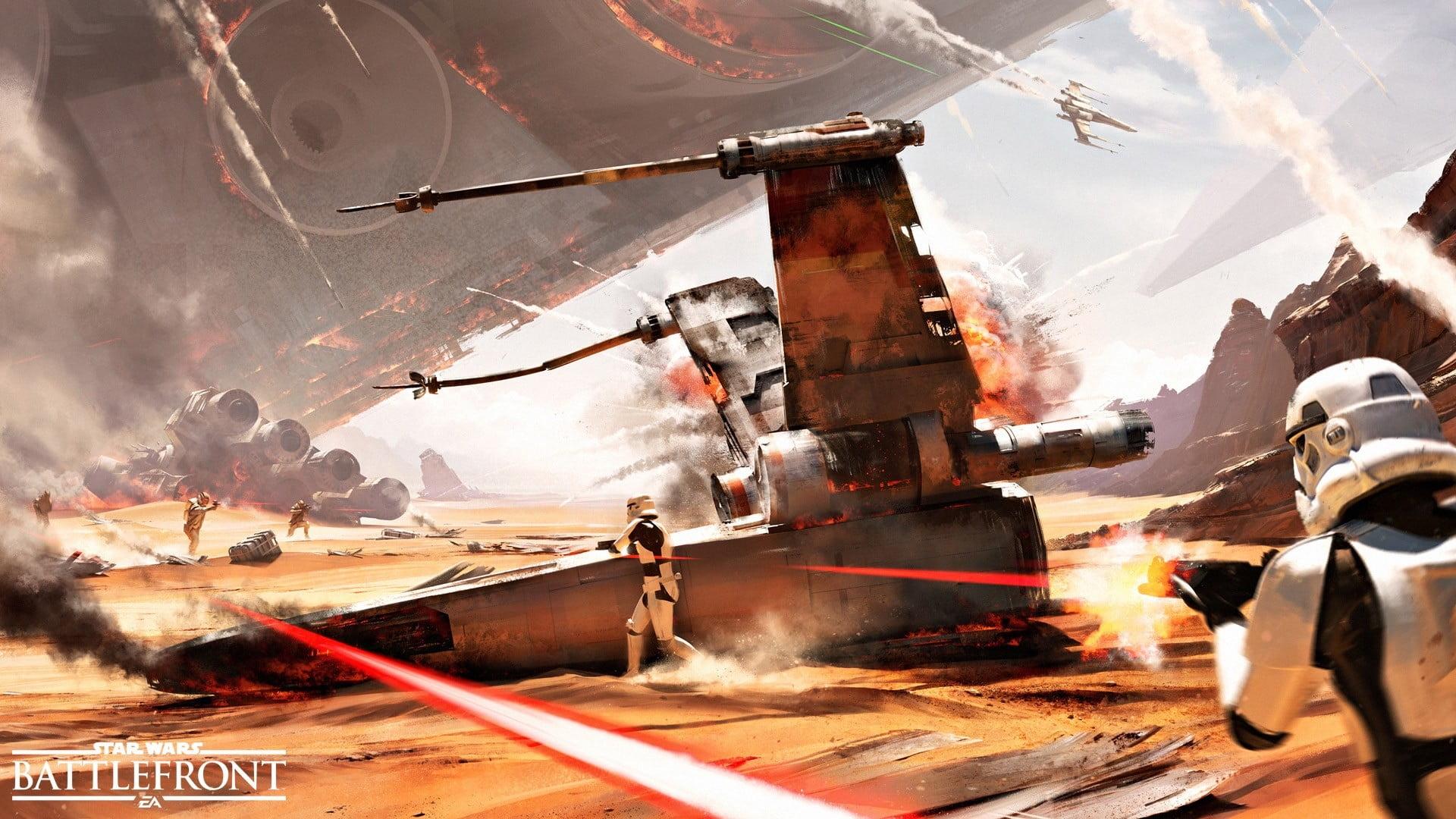 Star Wars Battlefront Wallpaper 1920x1080 Posted By Christopher Walker