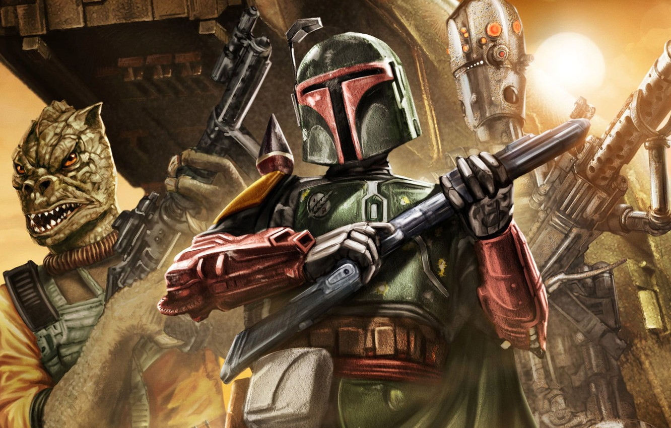 Star Wars Bounty Hunter Wallpaper Posted By Samantha Cunningham