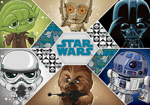 Star Wars Cartoon Wallpaper Posted By Samantha Peltier