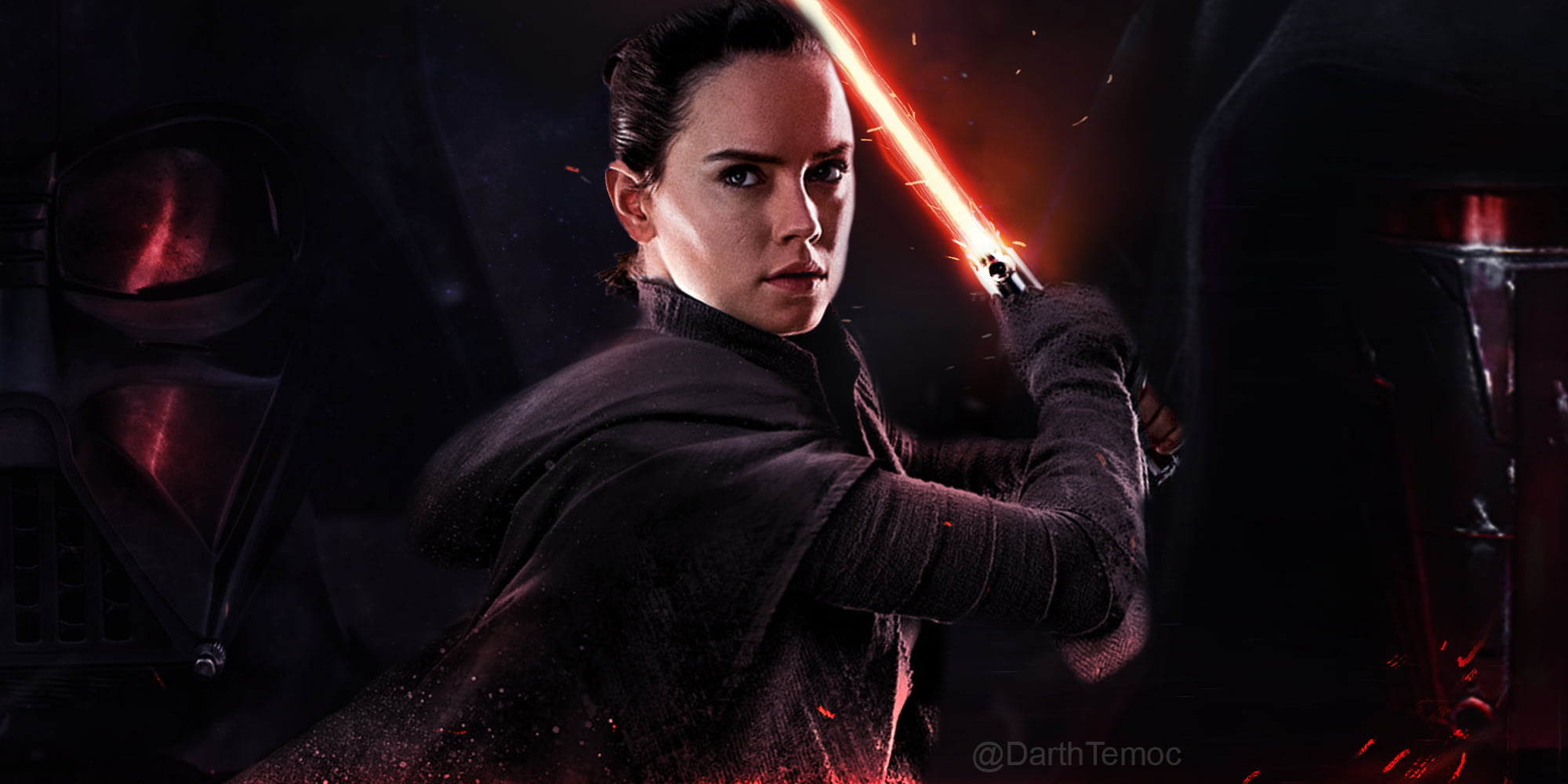 Star Wars character wallpaper, Star Wars The Last Jedi, Rey