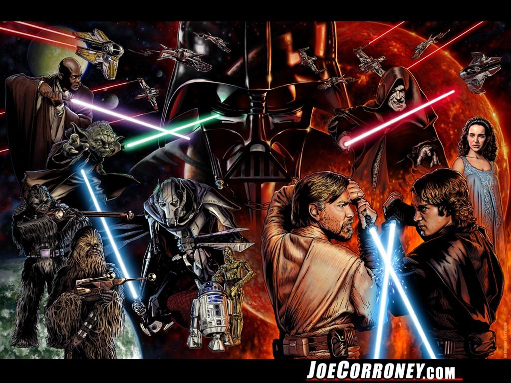 50+ Star Wars Saga Wallpaper on WallpaperSafari