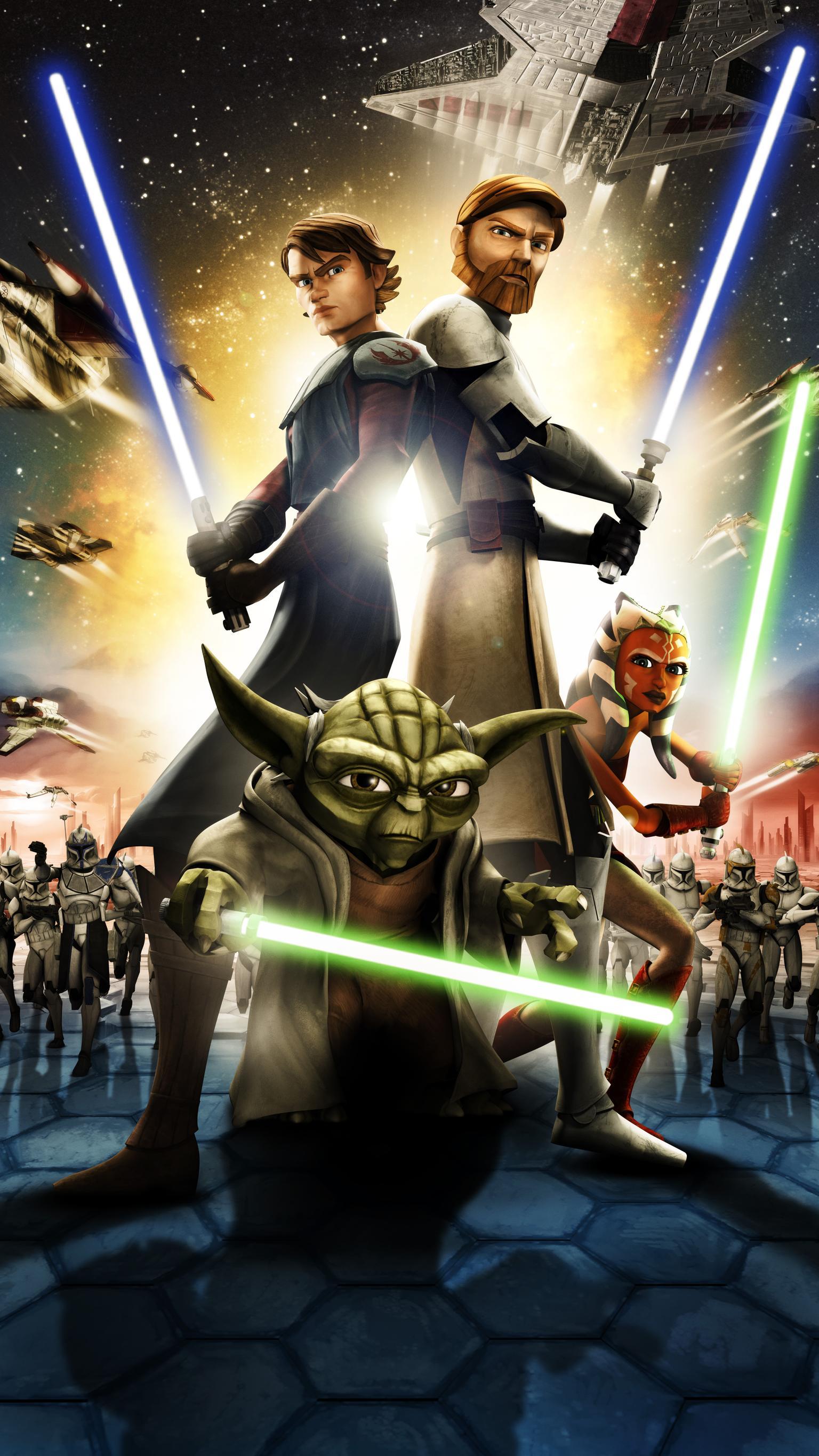 Star Wars Clone Wars Wallpaper Posted By John Walker