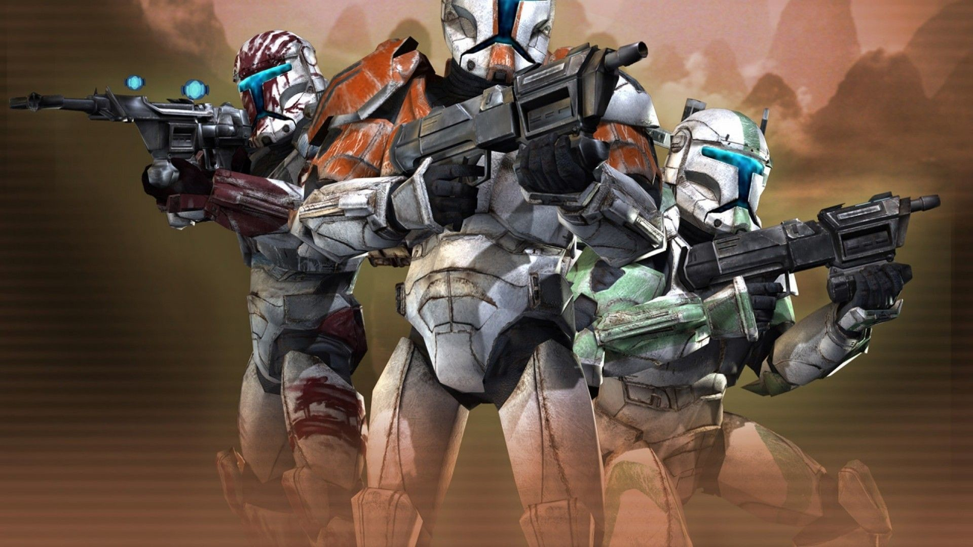 Star Wars Clone Wars Wallpapers Posted By Sarah Anderson