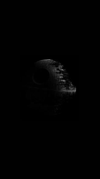 Star Wars Death Star iPhone 6 Wallpaper