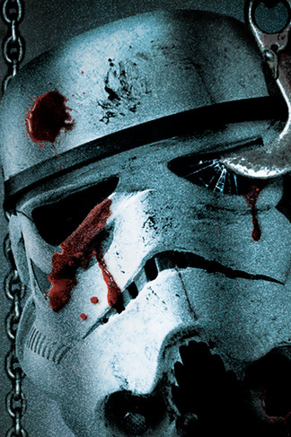Star Wars Death Trooper iPhone 4 Wallpaper