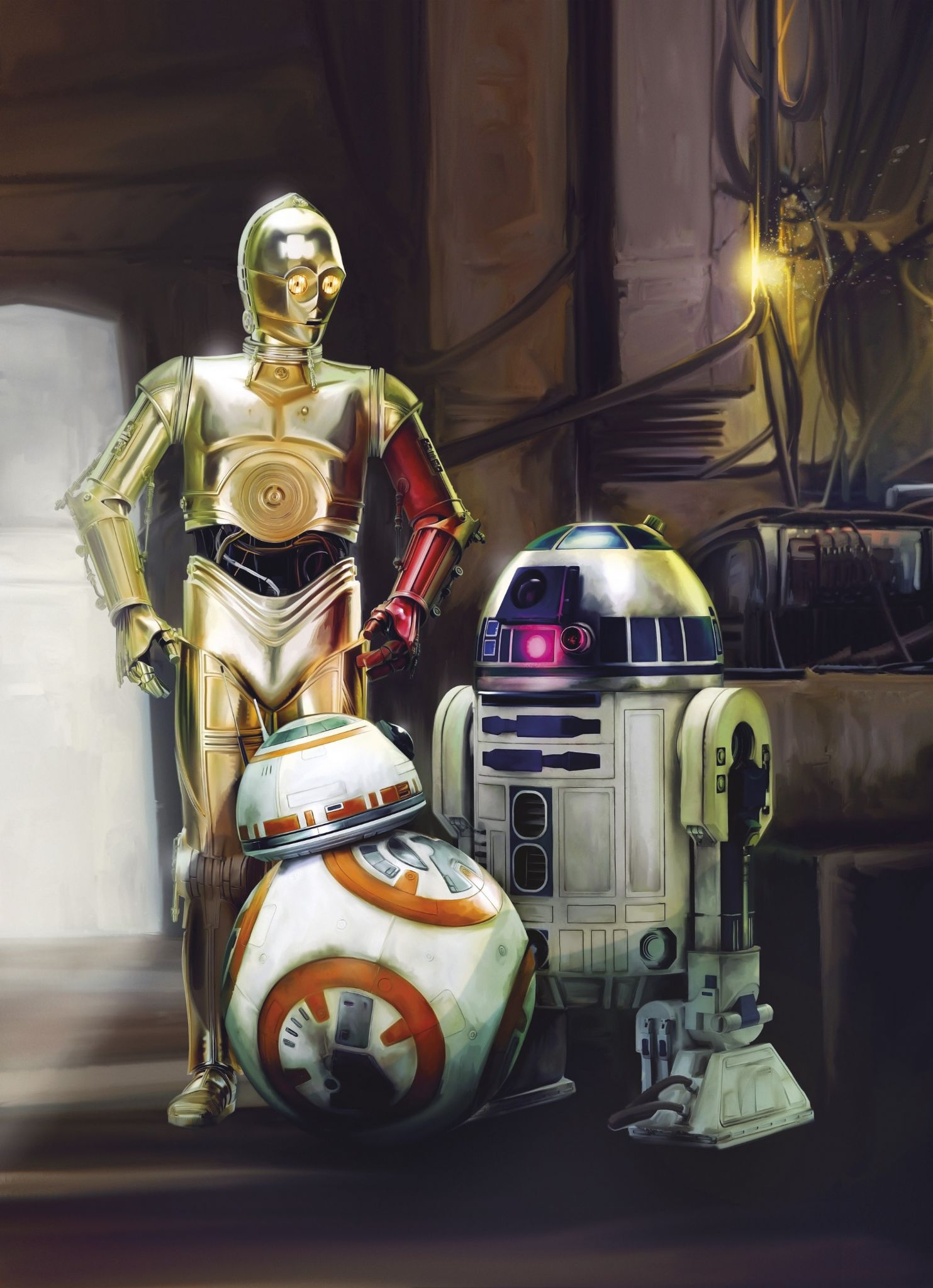 Star Wars Droid Wallpaper Posted By Ryan Anderson