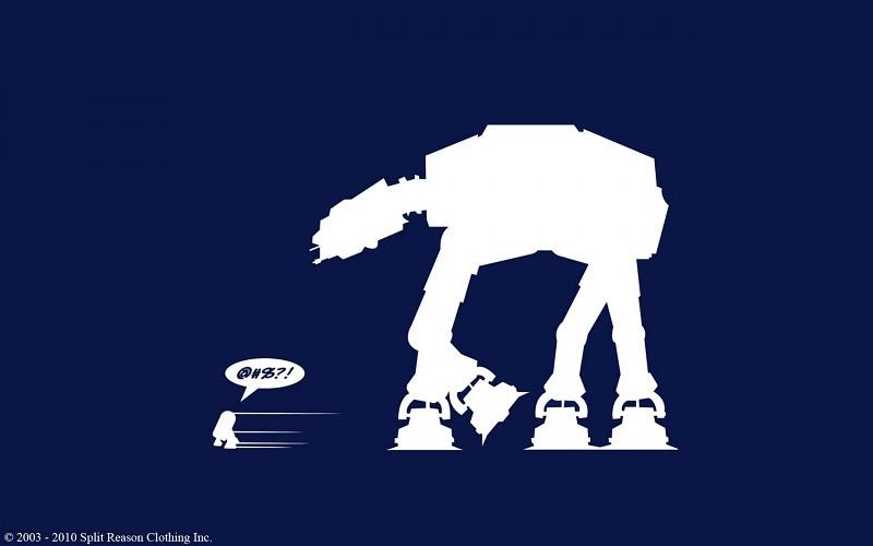 Star wars funny r2d2 artwork free desktop backgrounds and