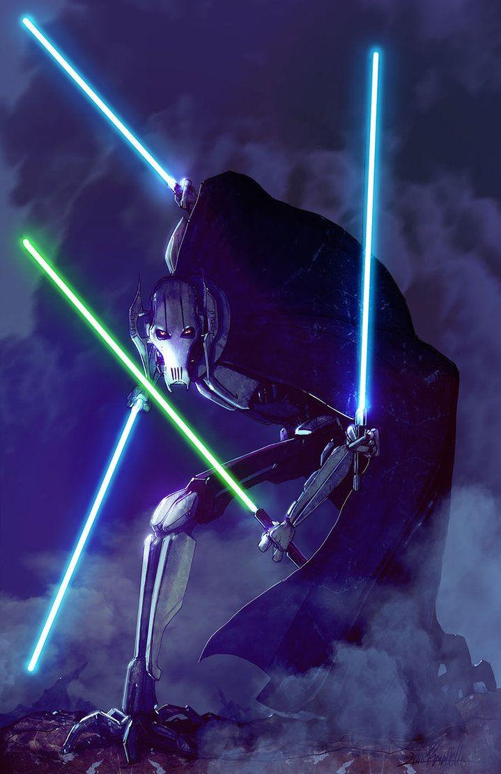 Star Wars General Grievous Wallpaper Posted By Sarah Simpson