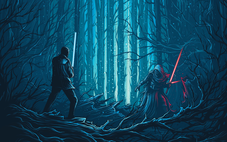 2880x1800 Star Wars The Force Awakens Macbook Pro Retina HD