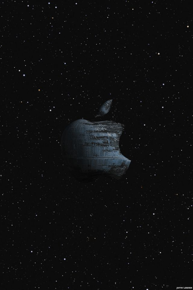 star wars apple logo Bing images Apple iphone wallpaper