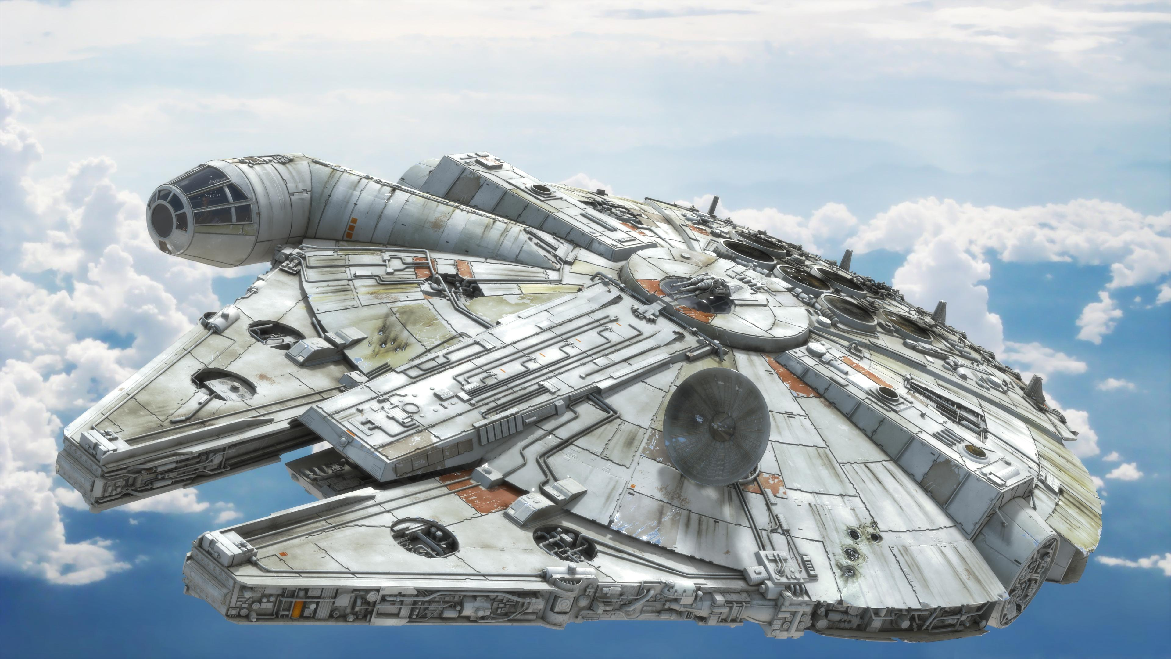 Star Wars Millennium Falcon Wallpaper Posted By Sarah Tremblay