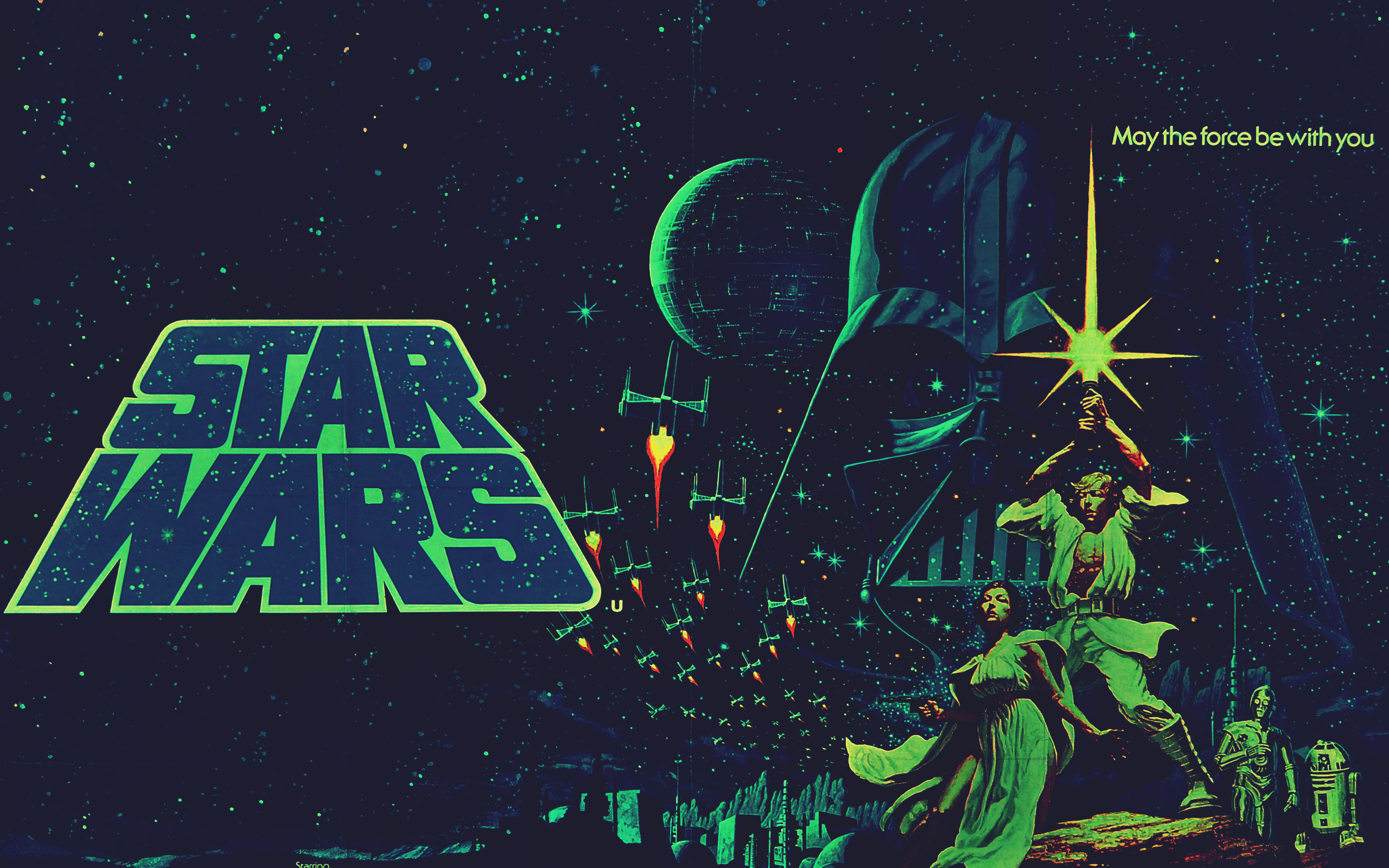 Star Wars Episode IV A New Hope HD Wallpaper Background