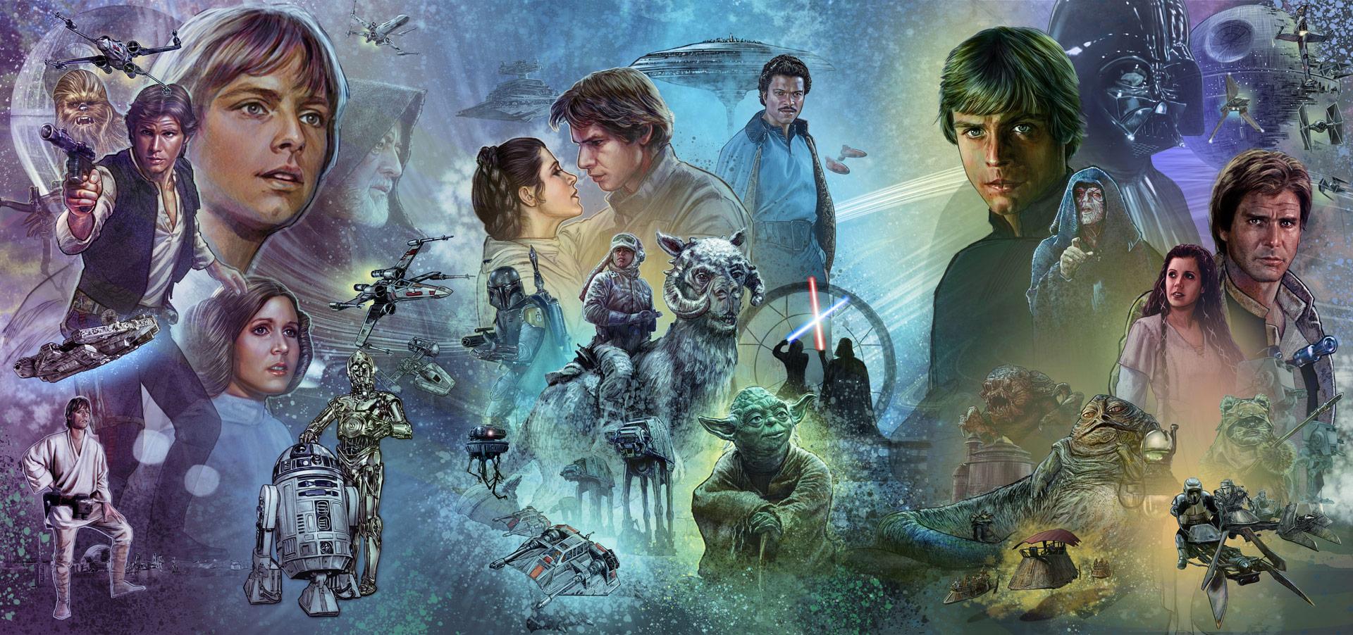 Star Wars Original Trilogy Wallpaper Posted By Ethan Peltier