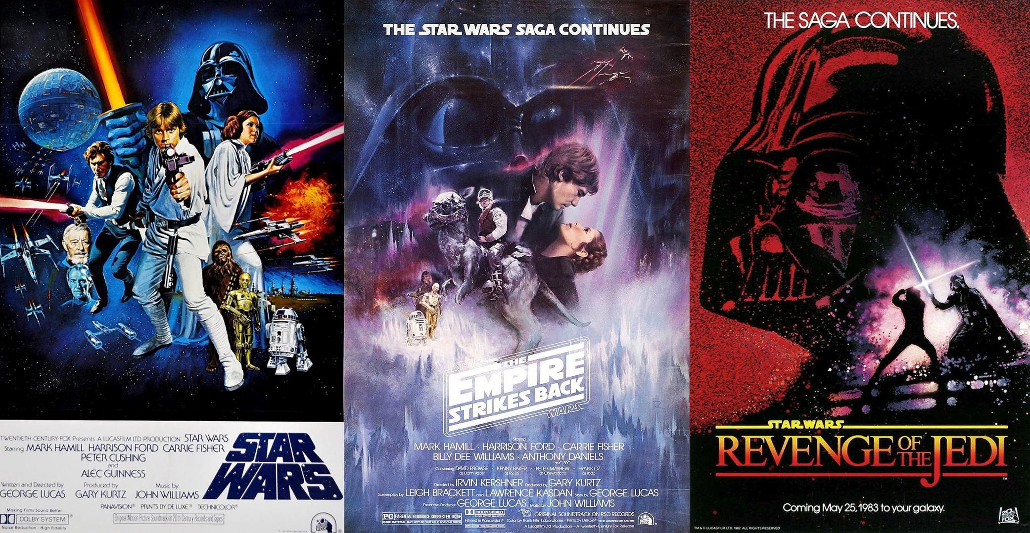 Original Trilogy Posters Wallpaper Revenge of the Jedi
