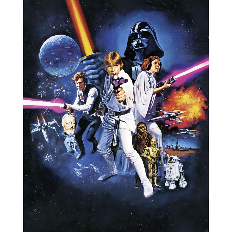Star Wars Poster Wallpaper Posted By Zoey Sellers