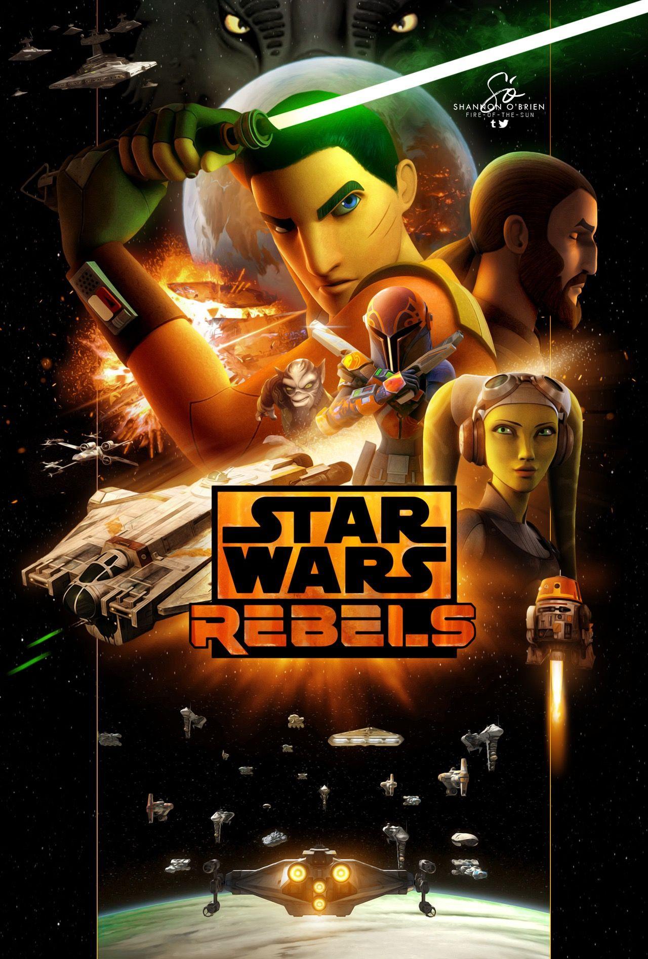 Star Wars Rebels Wallpaper Posted By Sarah Sellers