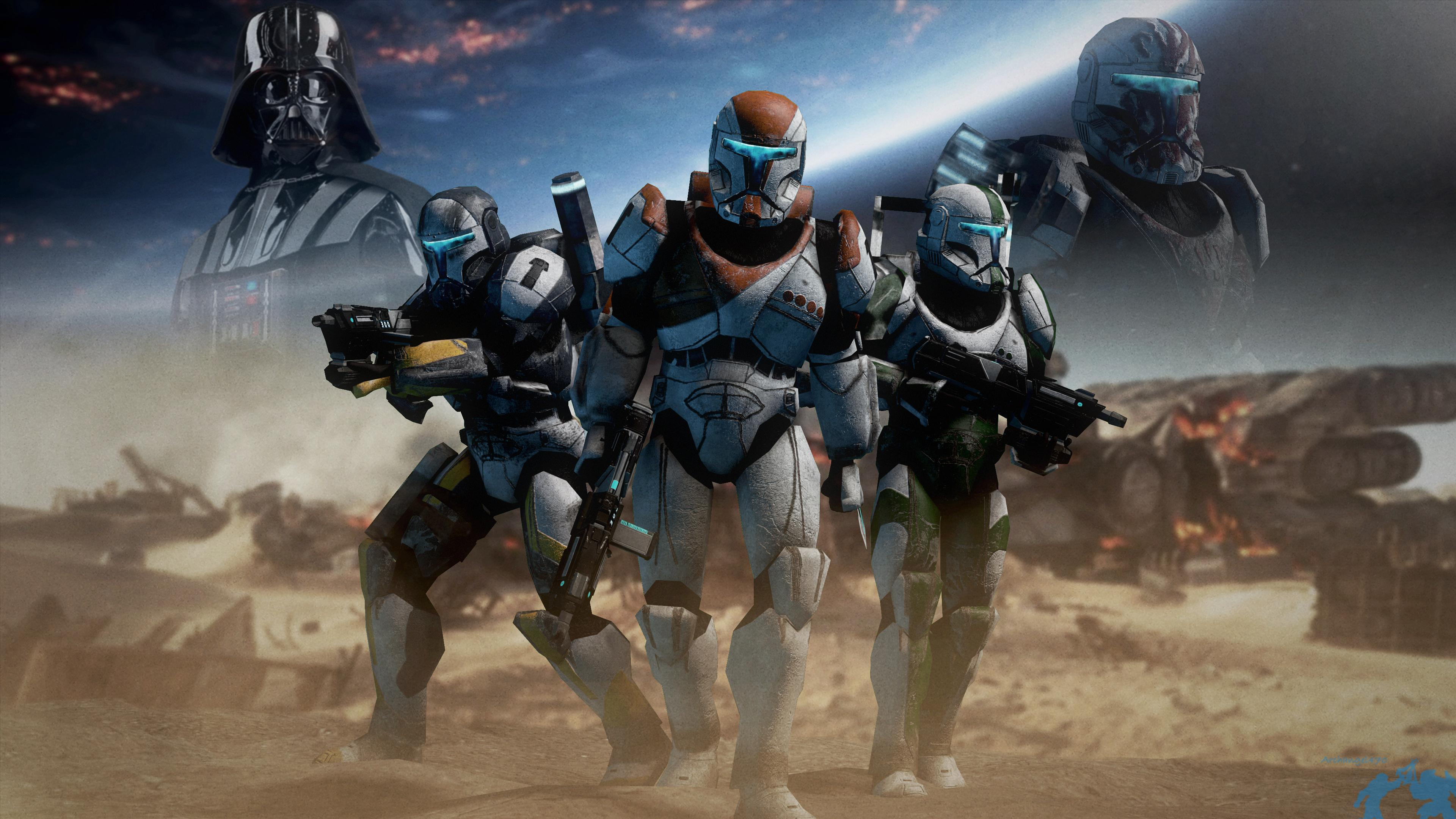 Star Wars Republic Commando Wallpaper Posted By Zoey Peltier