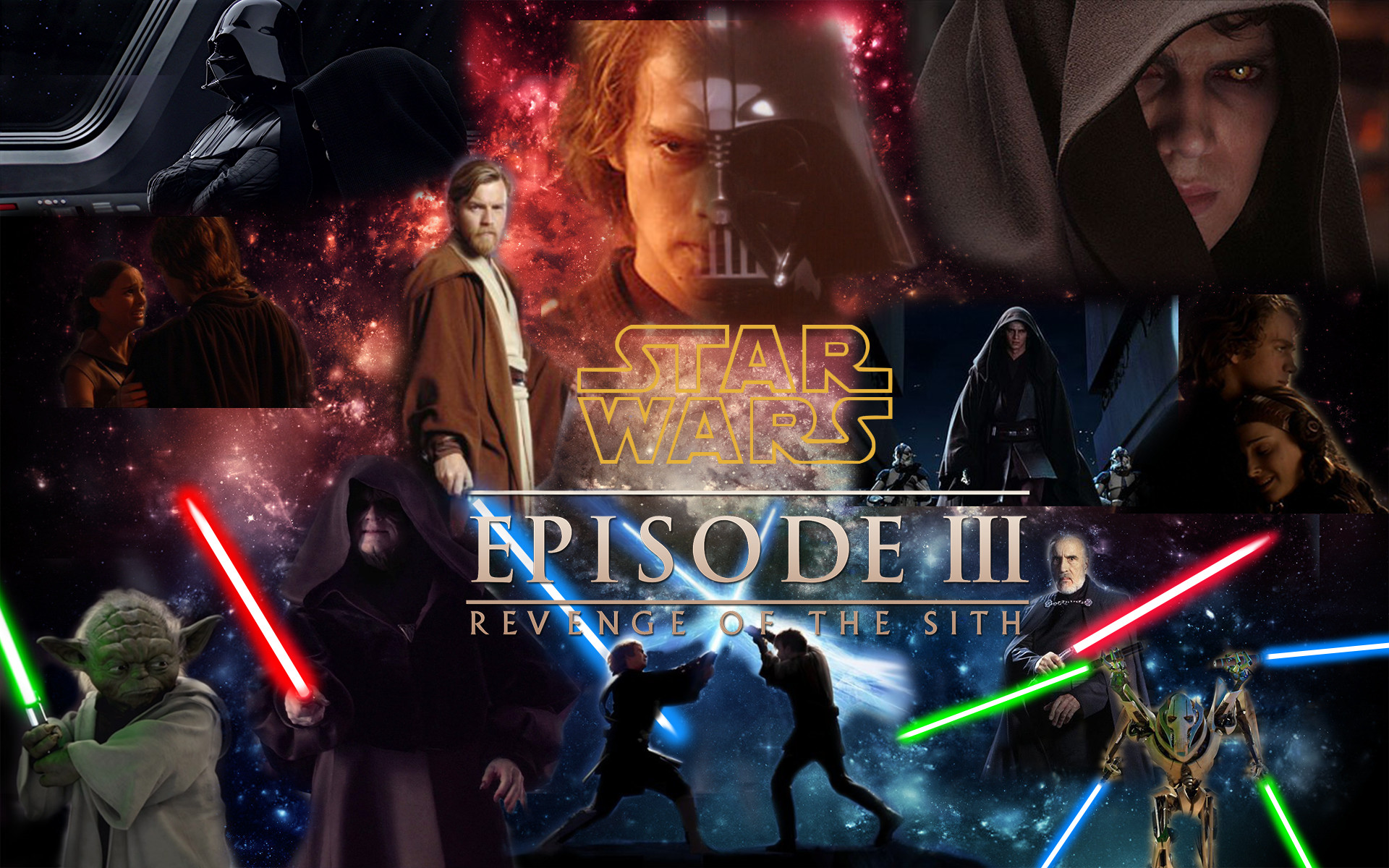 Star Wars Revenge Of The Sith Wallpapers Posted By Ryan Anderson