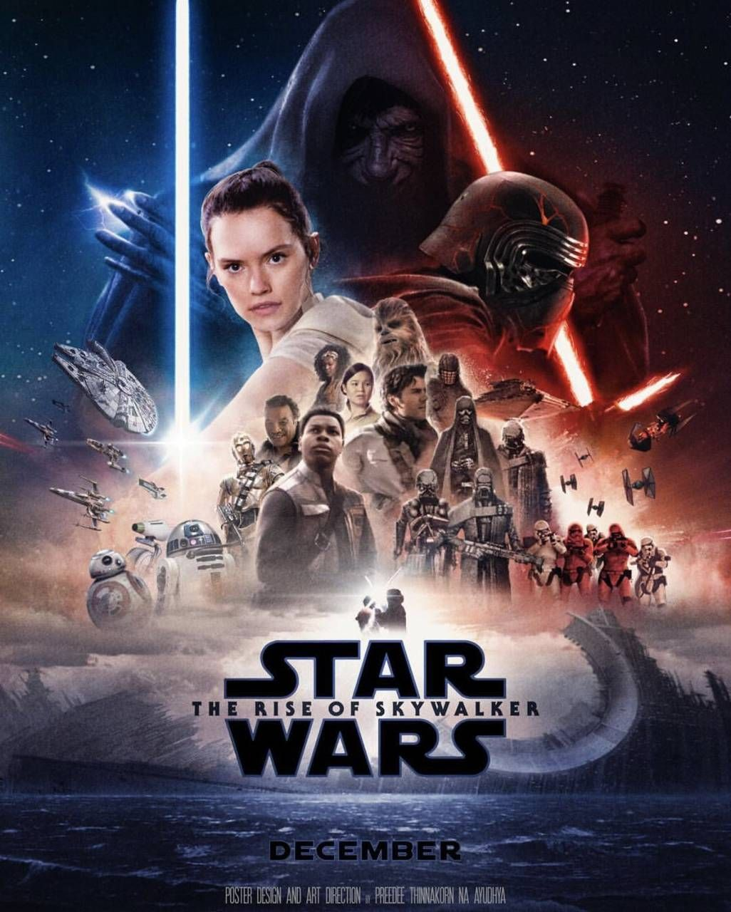Star Wars Rise Of Skywalker Wallpaper Posted By Michelle Anderson