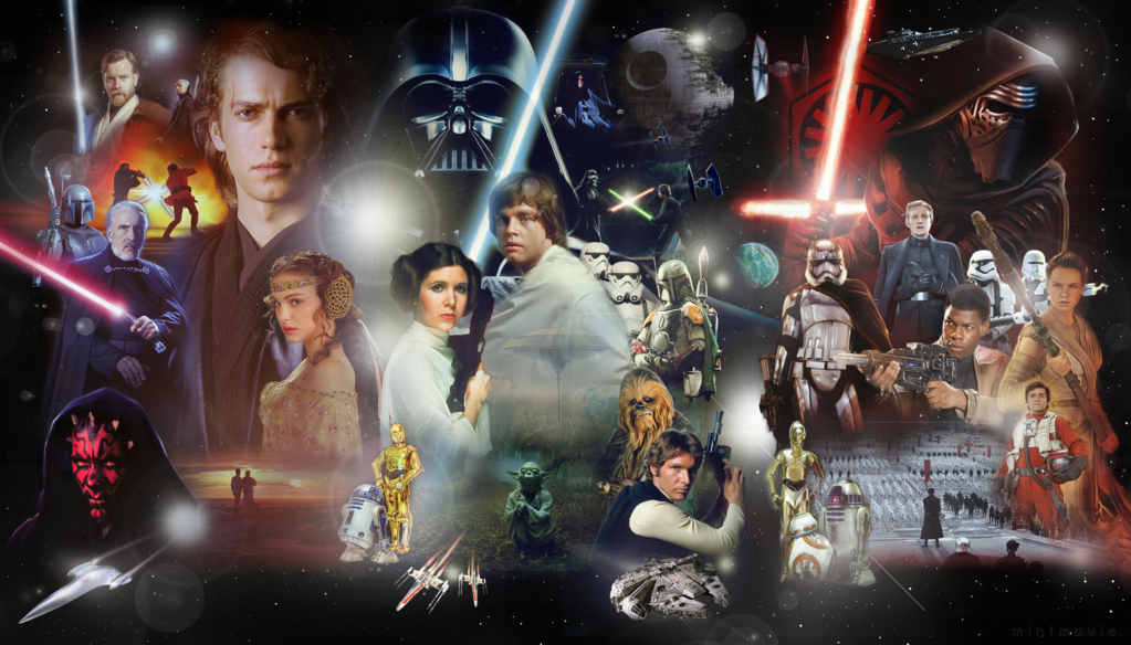 Star Wars Saga Wallpaper Posted By Christopher Peltier