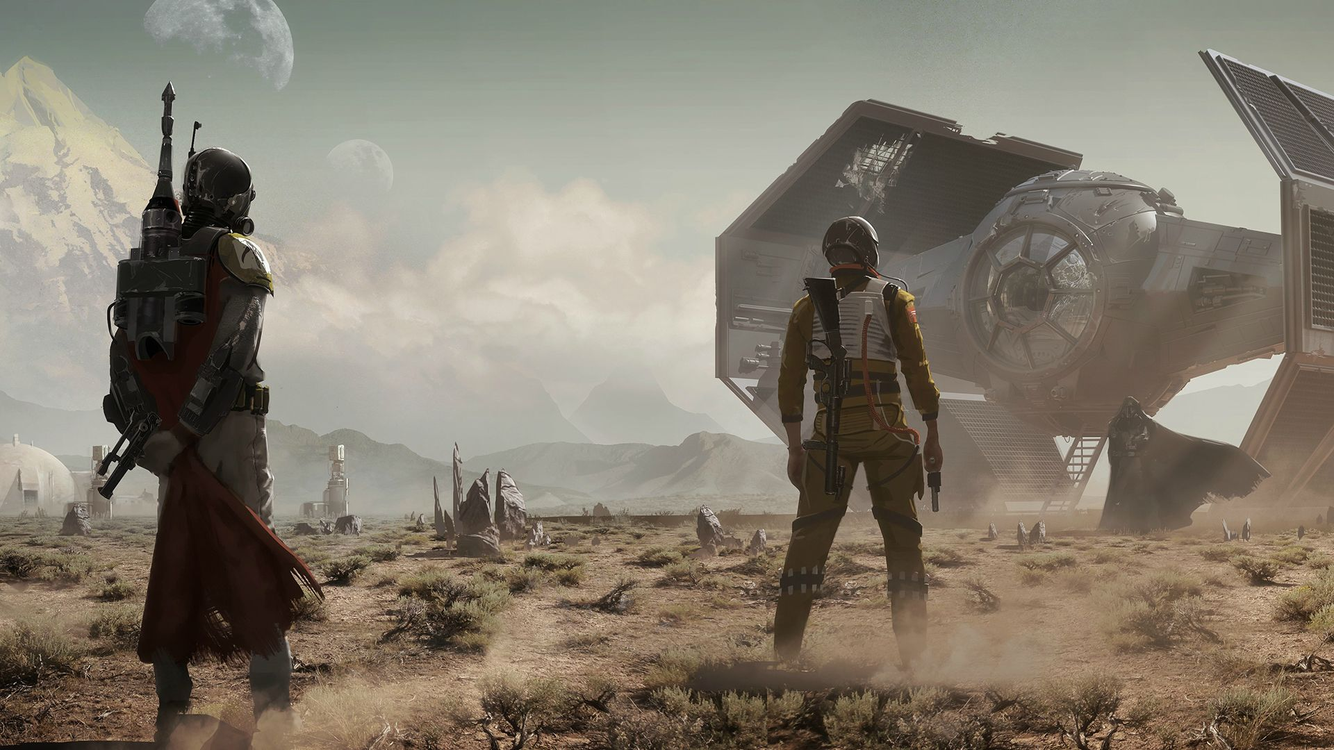 My ultimate wallpaper dump 140+ HD Star Wars Wallpapers for