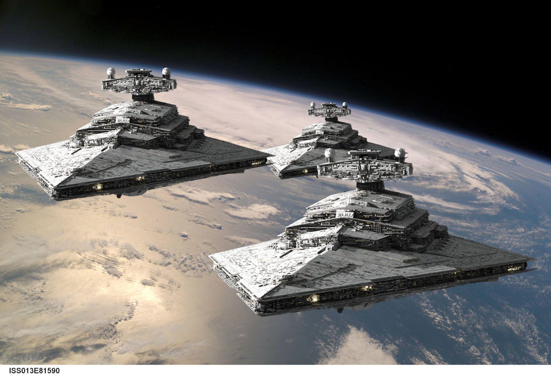 Star Wars Ship Wallpaper