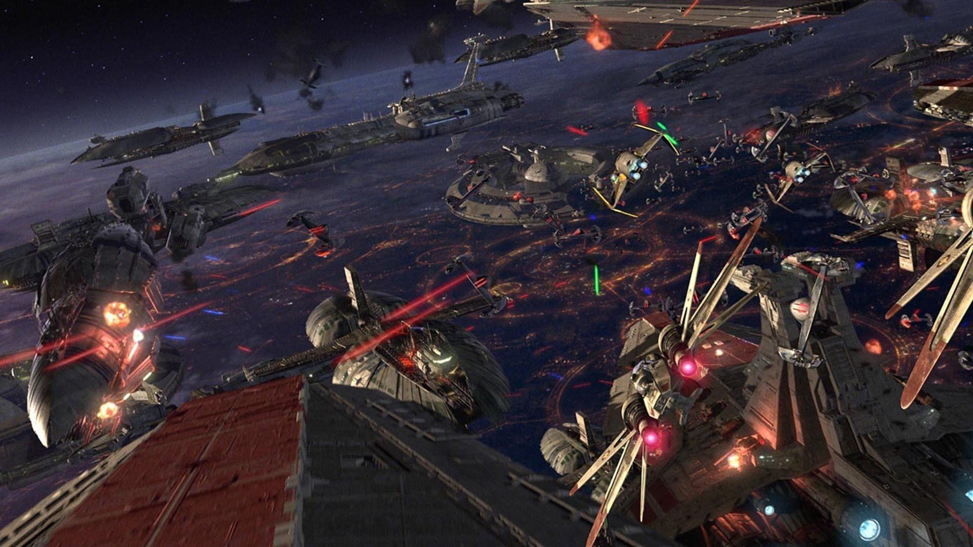 Star Wars Space Battle Wallpaper 61+ images