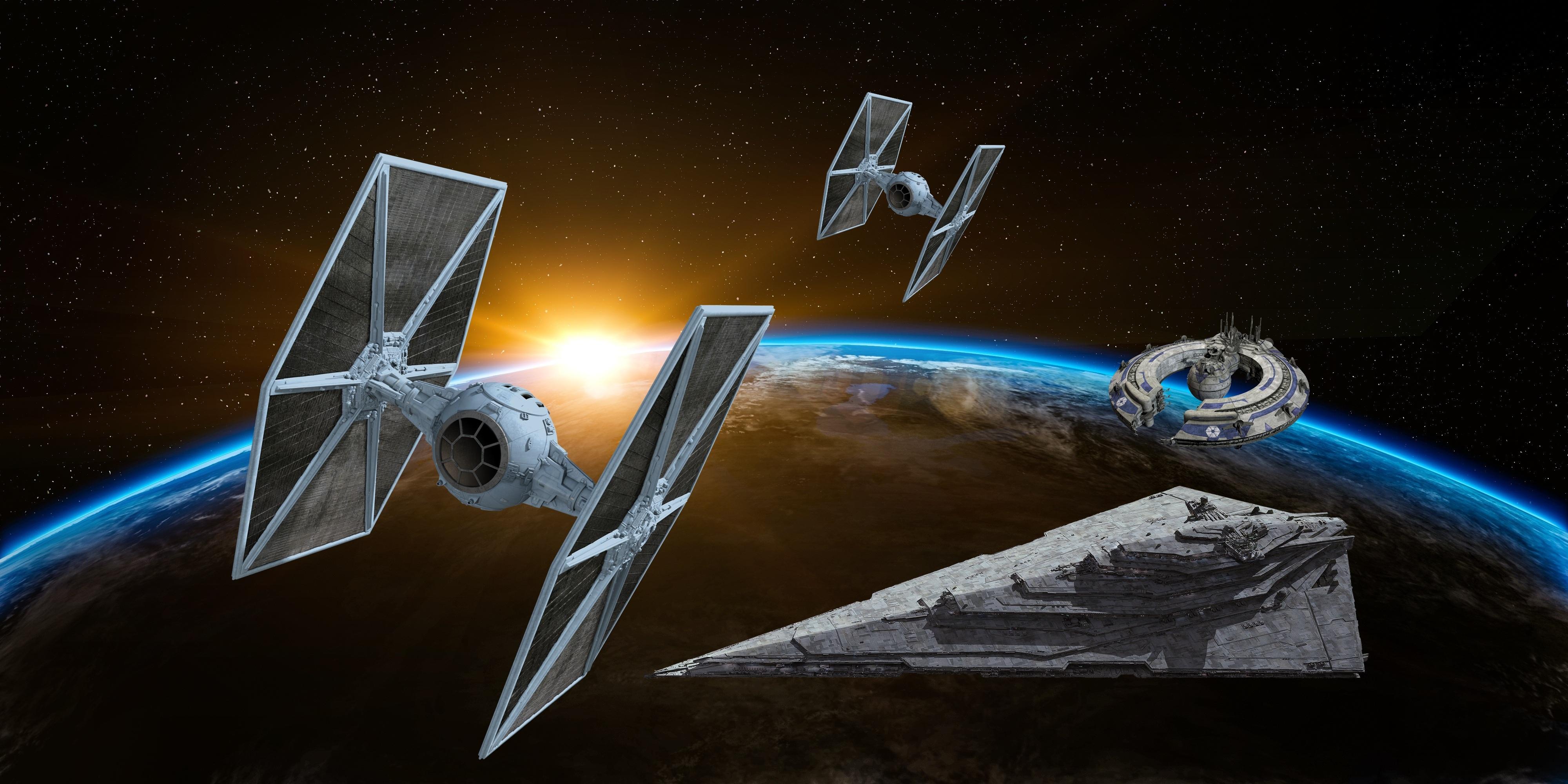 Star Wars Spaceships, Lucrehulk class Droid Control Ship HD