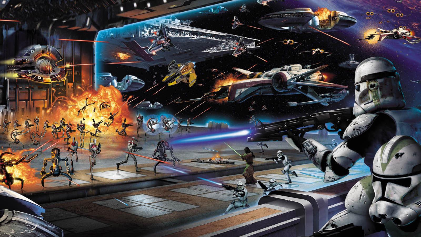 Star Wars Space Battle Wallpaper Posted By Ryan Walker