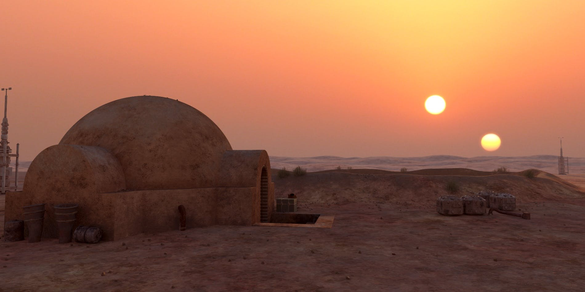 Star Wars Tatooine Wallpaper Posted By Sarah Anderson