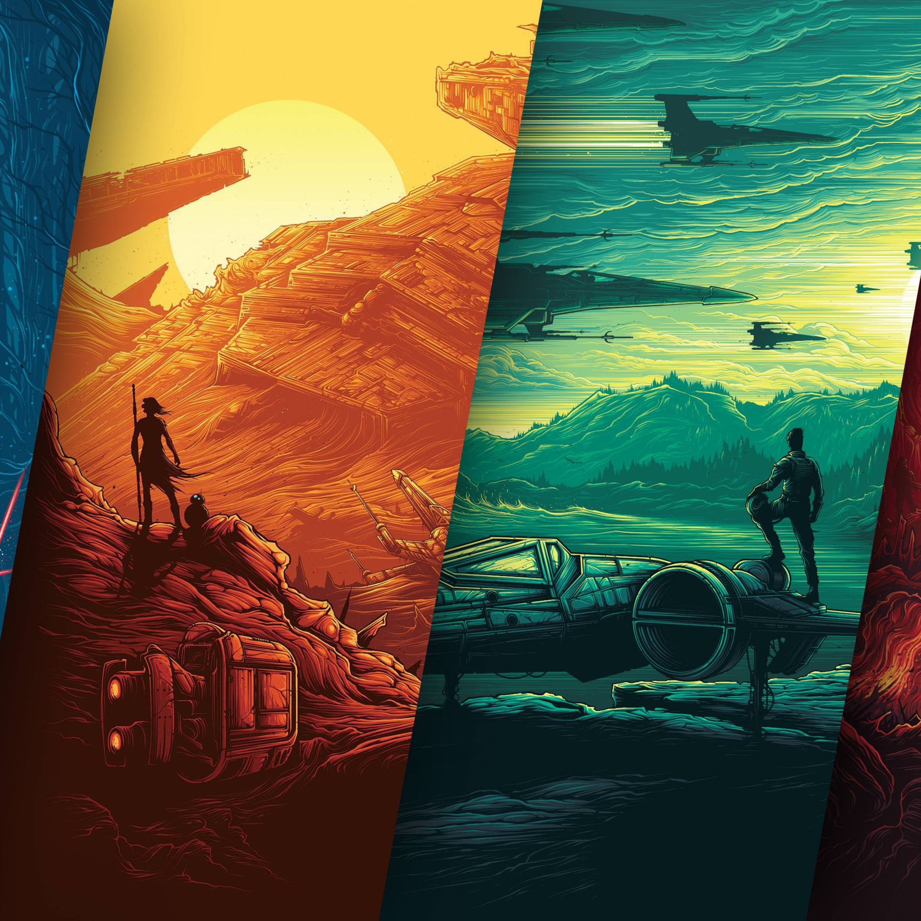 Star Wars The Force Awakens Iphone Wallpaper Posted By Ryan Simpson