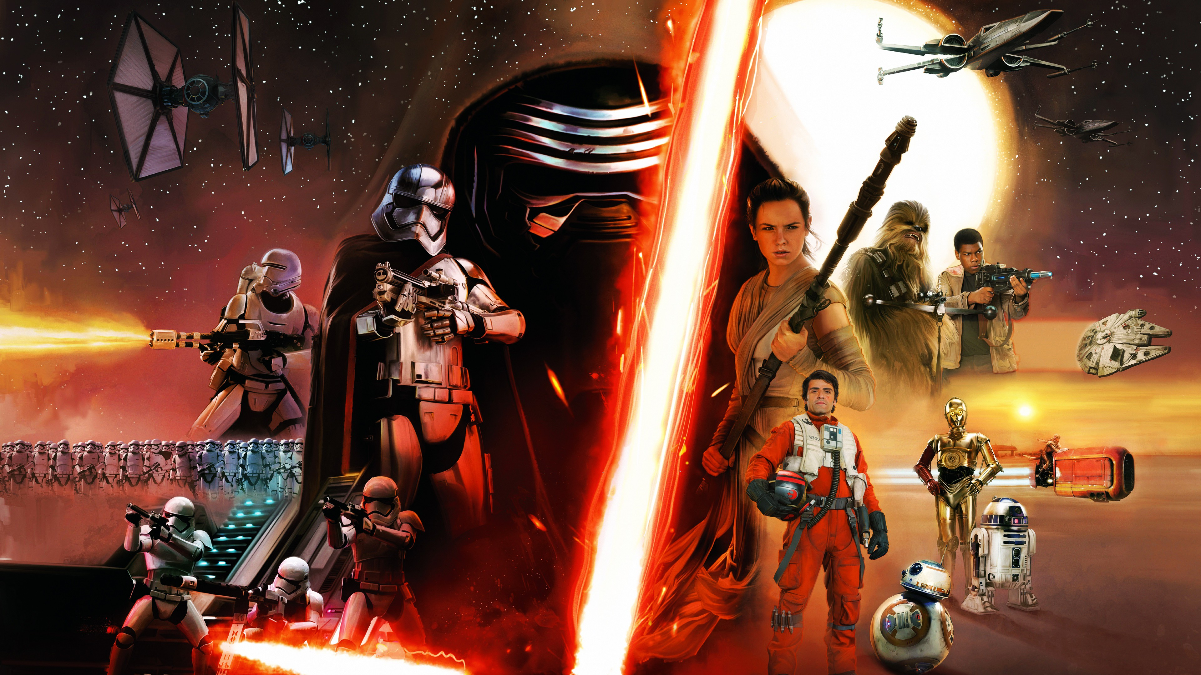 Star Wars The Force Awakens Wallpapers Posted By Sarah Walker