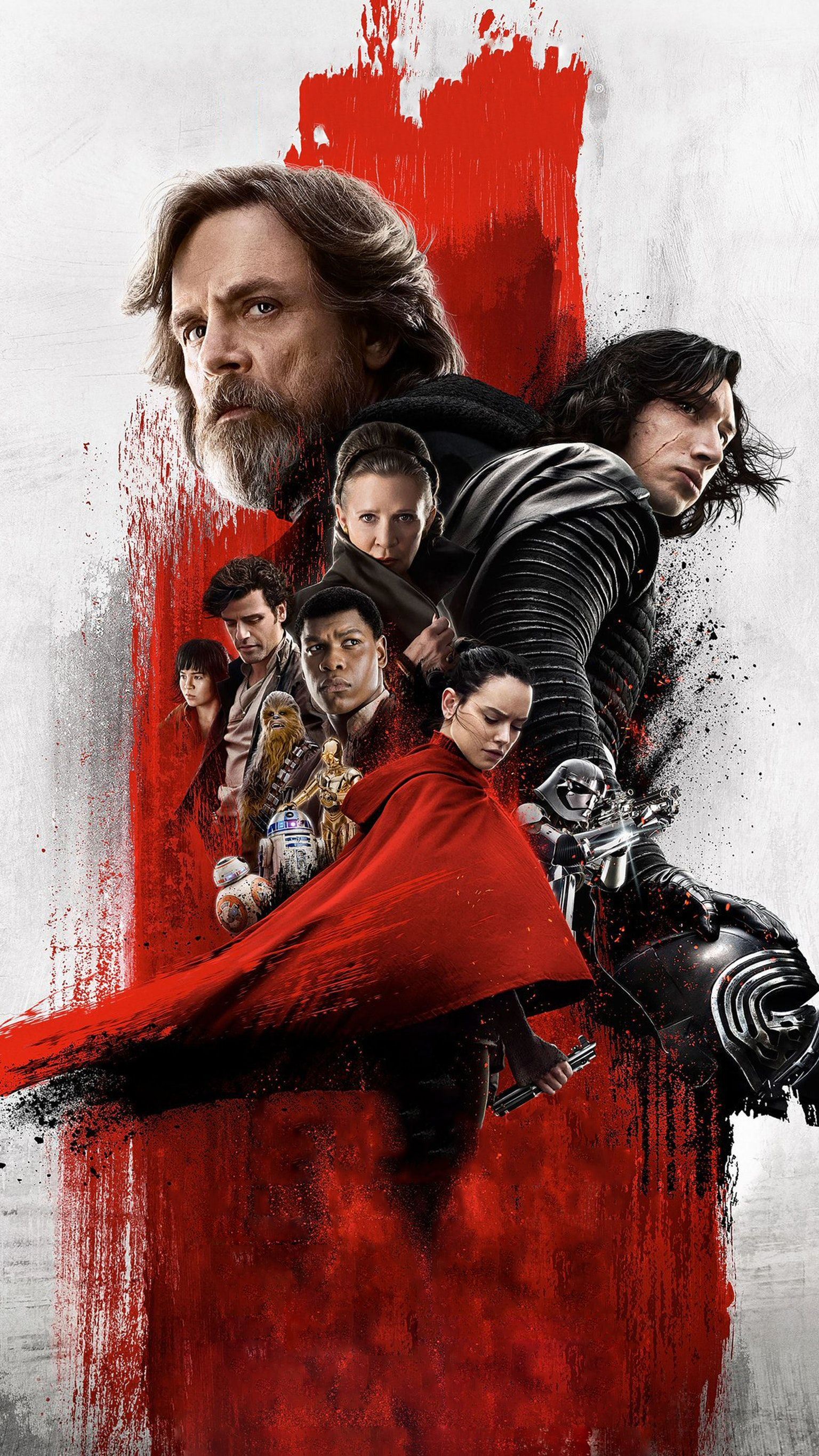 Star Wars The Last Jedi Hd Wallpaper Posted By Samantha Johnson