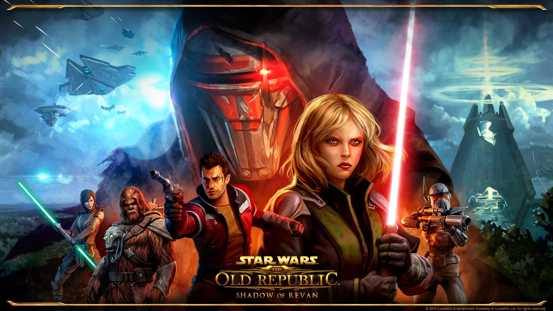 Star Wars The Old Republic Backgrounds