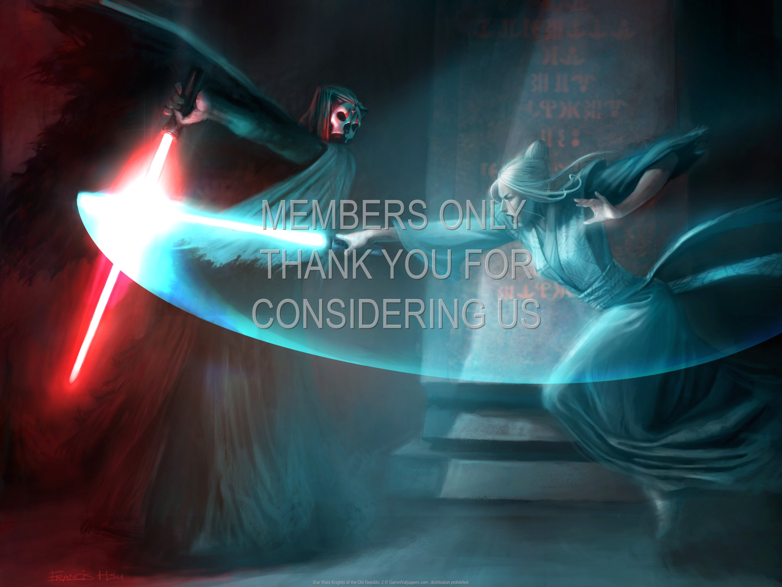 Star Wars Knights of the Old Republic 2 wallpaper 05
